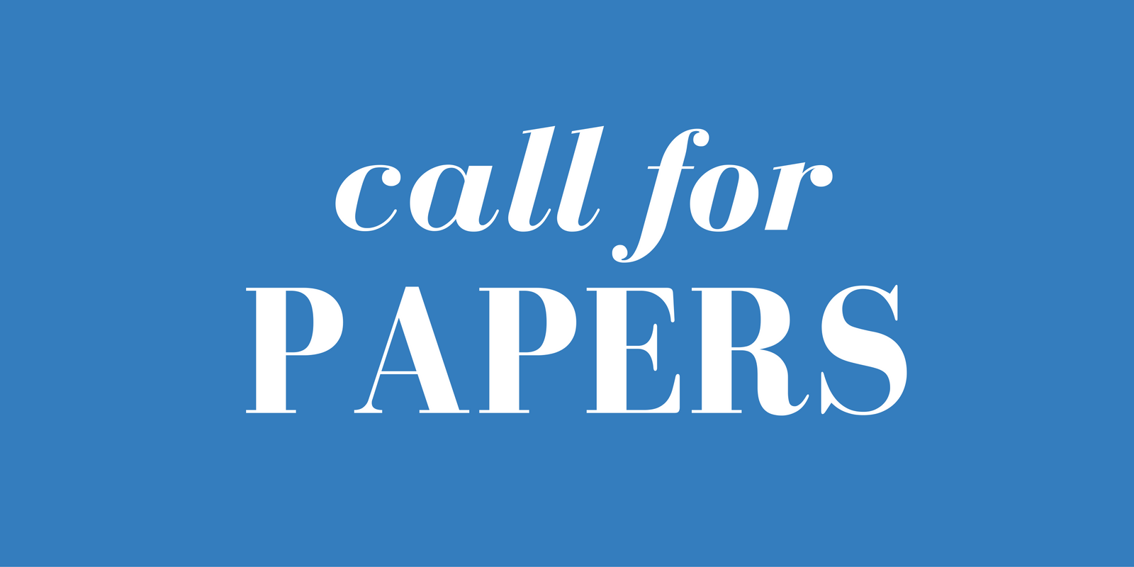 Call for Nursing Papers